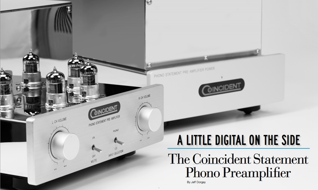 A Little Digital on the Side The Coincident Statement Phono  Preamplifier